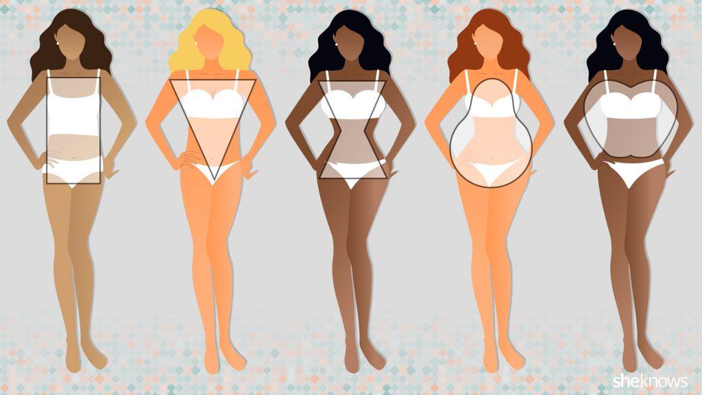 شكل جسم البنت