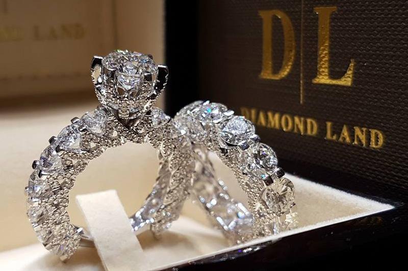 دياموند لاند  للمجوهرات